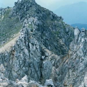 西穂山荘から焼岳~山で星を見る [焼岳2,455m]