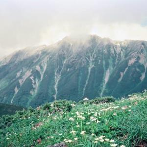 雲ノ平~黒部源流をまたいで [三俣蓮華岳2,841m・祖父岳2,825m・野口五郎岳2,924m]