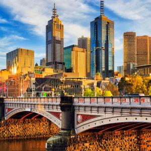 Melbourneってこんな街