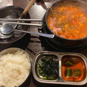 大阪オフィス街での韓国ランチ