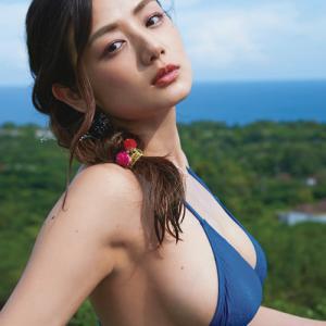 ミス日本ネイチャー美乳!!片山萌美