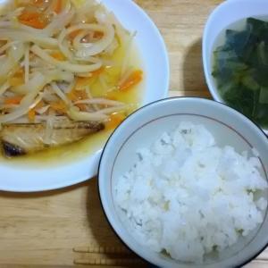 「魚も一手間加えて調理してみました。お題「昨日食べたもの」」