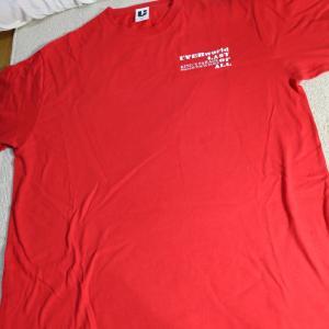「あまりライブグッズを買わない自分の唯一のライブTシャツ。今週のお題「お気に入りのTシャツ」」