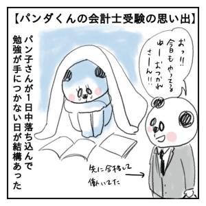 【会計士漫画】パンダくん会計士受験の思い出 4