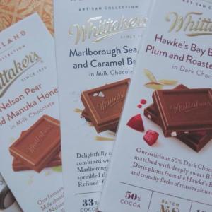 ニュージーランド原産!目にも美味しいウィッタカーズの激うまチョコ