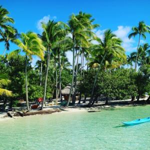 ハネムーンタヒチ旅行記。タハア島ル タハアアイランド リゾートスパに宿泊