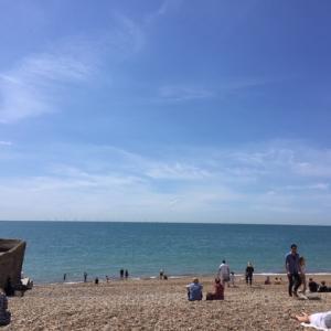 イギリスの海辺 ブライトンへ Bok Shop