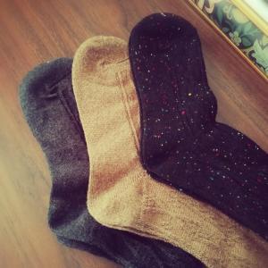 アラフォーの靴下事情。
