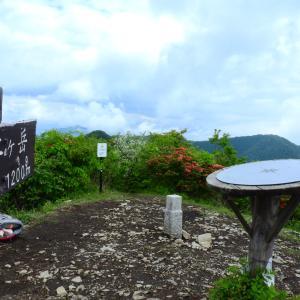 【十二ヶ岳】上州三峰山で蛭に襲われ予定変更 2021.05.23