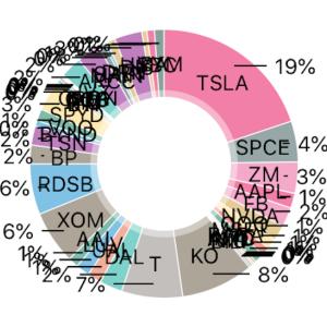 2020年7月7日米国株ポートフォリオ
