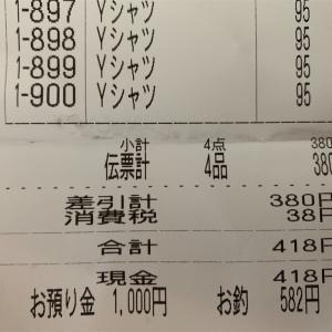 1か月1万円生活1日目