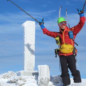 チャリオの山スキーデビュー