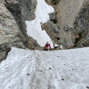 ひとりでは登りたくない山