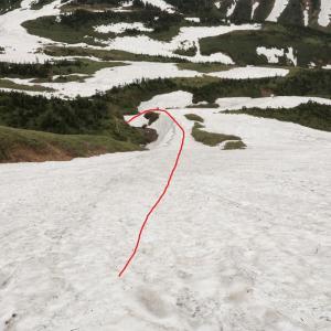 山スキーをやっててよかった
