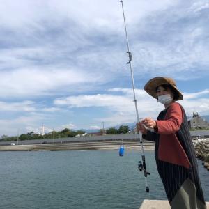 数十年ぶりの魚釣り