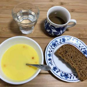 質素な朝食