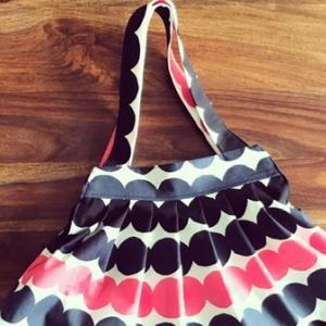 【型紙不要】グラニーバッグ 作り方 How to make a bag