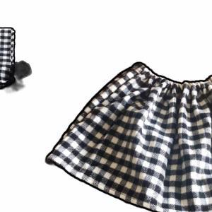 マフラーをスカートにリメイク! remake skirt