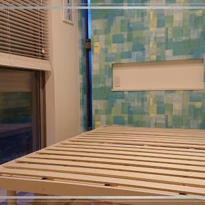 暮らしやすい家*ダブルとセミダブルのベッド
