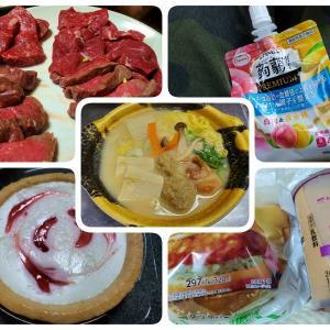 最後に肉盛り。