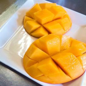 幸せのマンゴーが終わった。