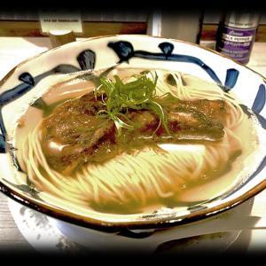 鯛の煮干しラーメンでランチしてきたよ