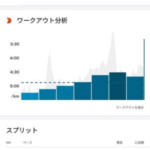 2021/7/24 宇多津ランニング