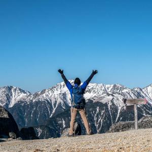 塩見岳 日帰り登山のきつい百名山 コースタイム15時間のロングコースに挑戦