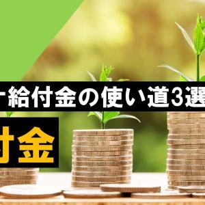 【日常生活】コロナの特別定額給付金:10万円の使い方を紹介