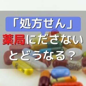 【 重要 】処方せんをもらって薬を取りに行かないとどうなる?