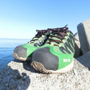 ワークマンの釣りに使えるコスパ最強シューズ「MK-12 ハイパーV」を試してみて半年 / 港で使うならこの靴しかないと確信しました