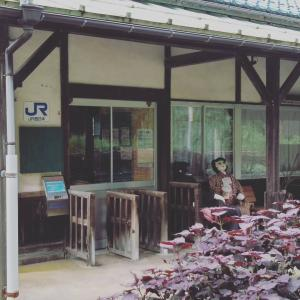 JR木次線、下久野駅に行きました。