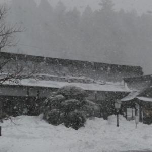 吹雪からの晴れ!明日はいよいよ木次線が走る。