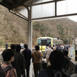 「スゴイ!備後落合駅」木次線に乗車して景色が美しい山里へ。