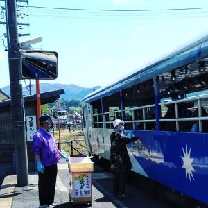 トロッコ列車おろち号ゴールデンウィーク毎日運行中!!!