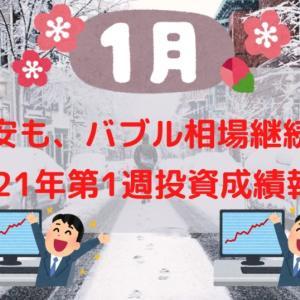 【投資成績報告】2021年1月第1週