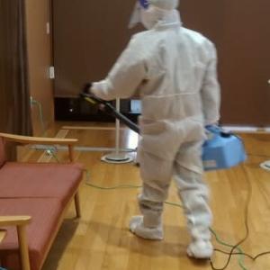 新型コロナウイルス消毒「東京都・神奈川県」を対象に承っております