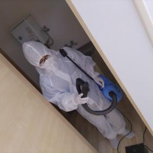 川崎市消毒会社「新型コロナ消毒チーム」が事例を紹介します