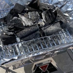 【おうち時間】ロゴスの焚き火台でバーベキュー!