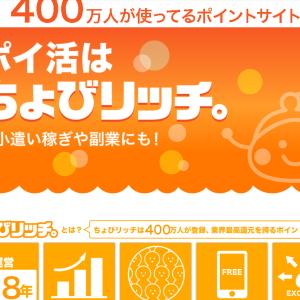 ちょびリッチ ブログ紹介 2021年8月