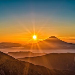 富士山、成人式、学びの姿勢