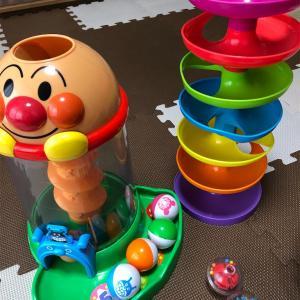 息子(8ヶ月)の遊び♪クルクルできるようになりました