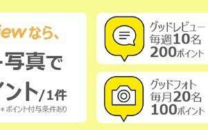 レビュー1件30円♡
