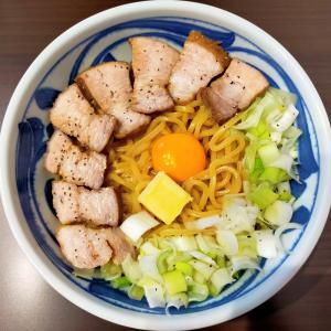 いの麺🍜16発目✨肉バタ油そば