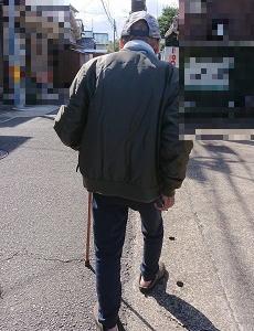 義理の父との散歩道は、大冒険。