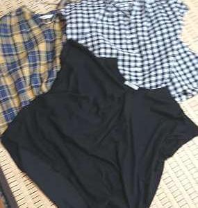 「50代小柄ぽっちゃり」夏に着回すヘビロテ服7着を公開します。