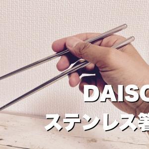 【DAISOキャンプグッズ】ステンレス箸(セパレート)を買ってみる。メスティンと相性良くお弁当グッズに使えます