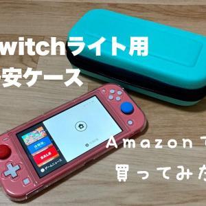 【コスパ良し?】Amazonでスイッチライト用の格安ケースを買ったお話