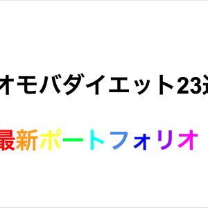 【ネオモバダイエット22&23週目】最新のポートフォリオ