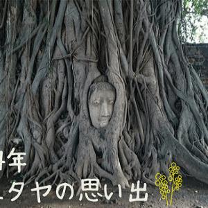 2004年のアユタヤ(タイ)の思い出を振り返る。